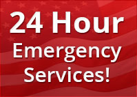 24 Hour Emergency Services! Free Estimates During Office Hours!